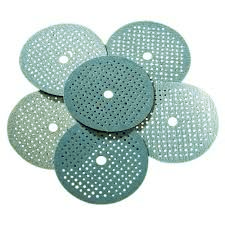 Foam backed micro-hole sanding discs  / Abtec4Abrasives