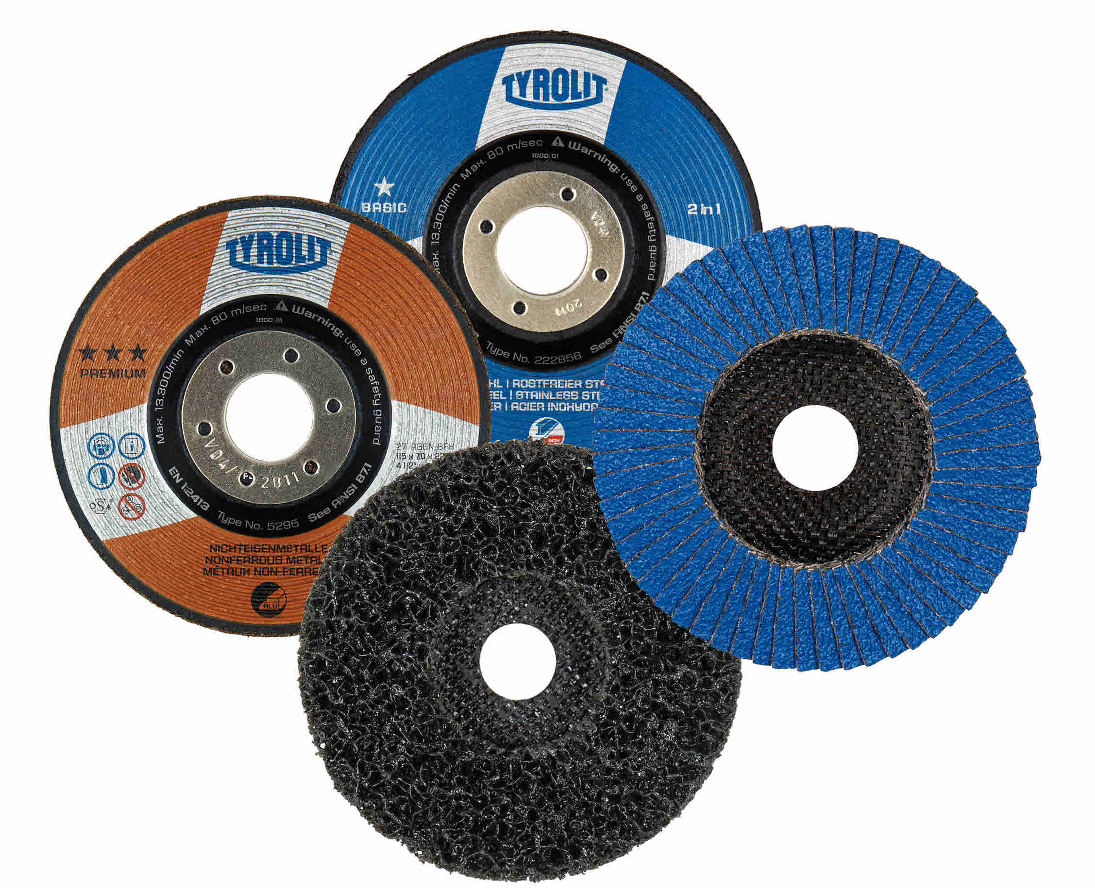 Sanding Polishing Grinding And Cutting Set For Metals 24 Discs